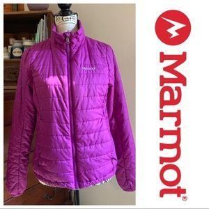 Marmot Purple Medium Puffer